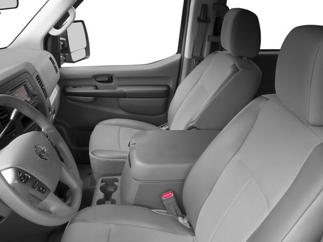 2015 Nissan NVP Prices and Values Passenger Van SV front seat interior