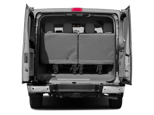 2015 Nissan NVP Prices and Values Passenger Van SV open trunk