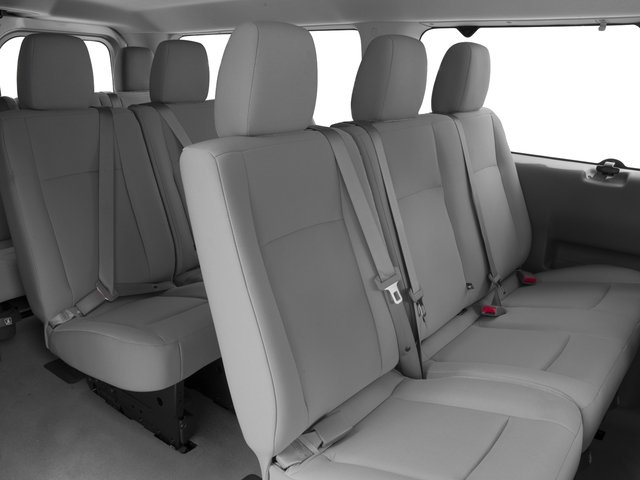 2015 Nissan NVP Prices and Values Passenger Van SV backseat interior