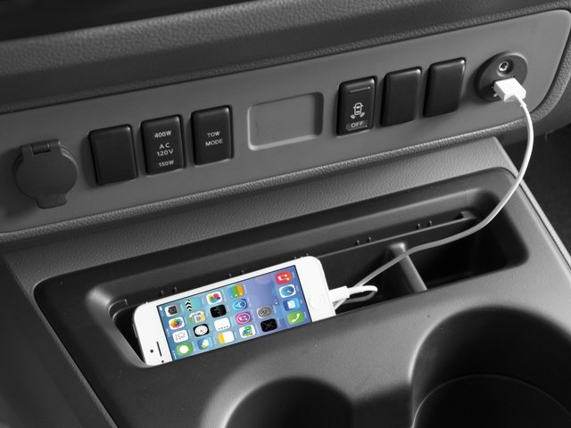 2015 Nissan NVP Prices and Values Passenger Van SV iPhone Interface
