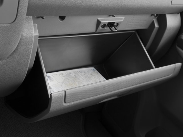 2015 Nissan NVP Prices and Values Passenger Van SV glove box