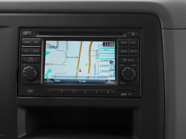 2015 Nissan NVP Prices and Values Passenger Van SV navigation system
