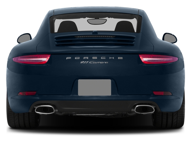 2015 Porsche 911 Prices and Values Coupe 2D H6 rear view