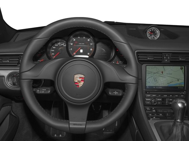 2015 Porsche 911 Prices and Values Coupe 2D H6 driver's dashboard