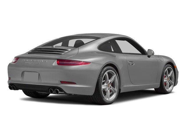 2015 Porsche 911 Prices and Values Coupe 2D S H6 side rear view