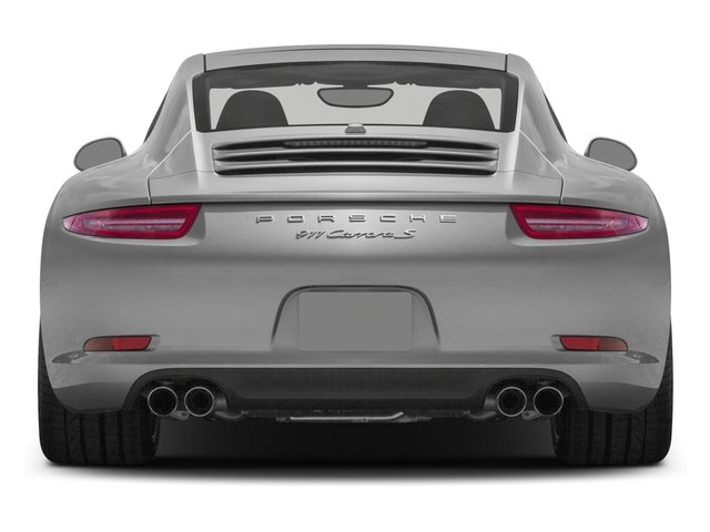 2015 Porsche 911 Prices and Values Coupe 2D S H6 rear view