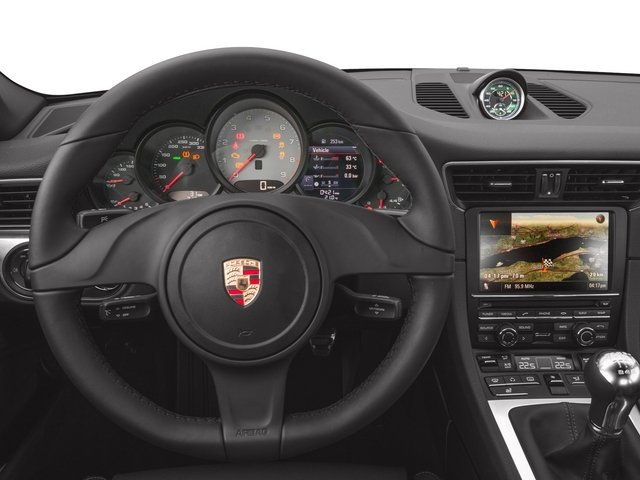 2015 Porsche 911 Prices and Values Coupe 2D Turbo AWD H6 driver's dashboard