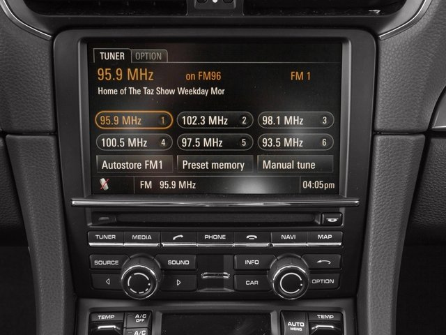 2015 Porsche 911 Prices and Values Coupe 2D S H6 stereo system