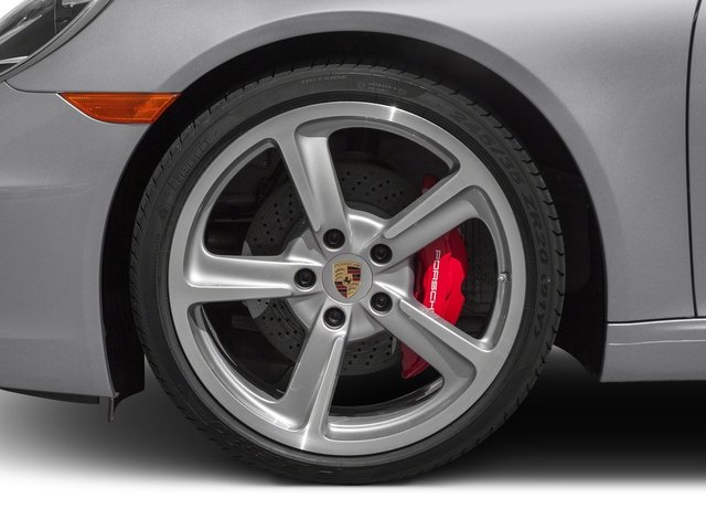 2015 Porsche 911 Pictures 911 Coupe 2D S H6 photos wheel