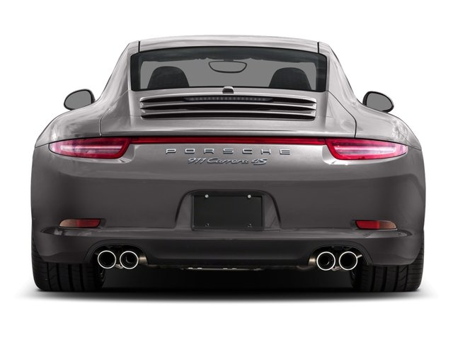 2015 Porsche 911 Prices and Values Coupe 2D 4S AWD H6 rear view