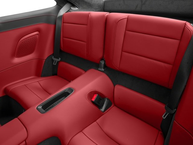 2015 Porsche 911 Prices and Values Coupe 2D GTS H6 backseat interior