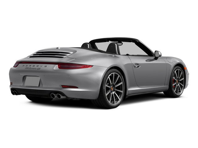 2015 Porsche 911 Prices and Values Cabriolet 2D 4 AWD H6 side rear view