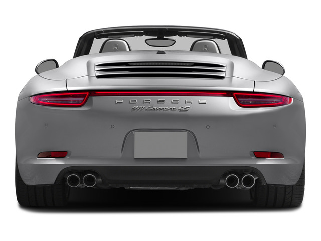 2015 Porsche 911 Prices and Values Cabriolet 2D 4 AWD H6 rear view