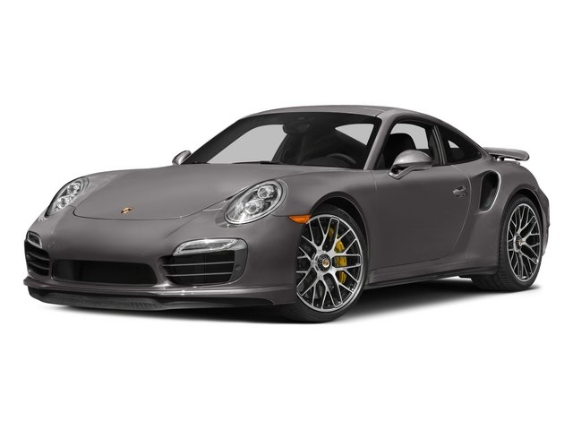 2015 Porsche 911 Prices and Values Coupe 2D Turbo S AWD H6 side front view