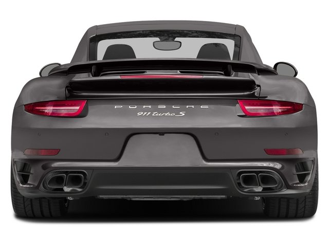 2015 Porsche 911 Prices and Values Coupe 2D Turbo S AWD H6 rear view