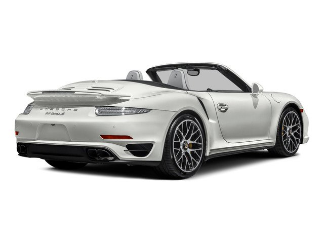 2015 Porsche 911 Prices and Values Cabriolet 2D S AWD H6 Turbo side rear view