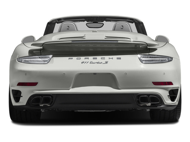 2015 Porsche 911 Prices and Values Cabriolet 2D S AWD H6 Turbo rear view