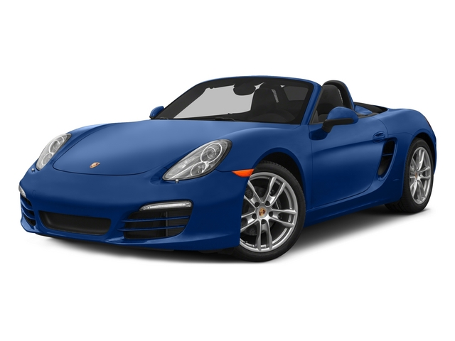 2015 Porsche Boxster Prices and Values Roadster 2D H6 side front view