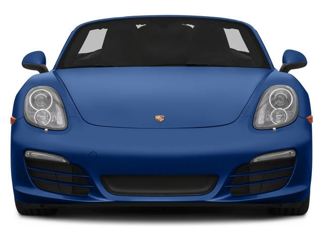 2015 Porsche Boxster Prices and Values Roadster 2D H6 front view