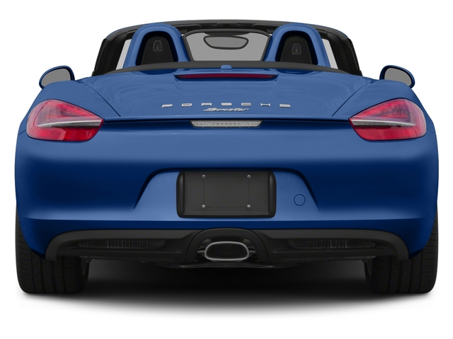 2015 Porsche Boxster Prices and Values Roadster 2D H6 rear view