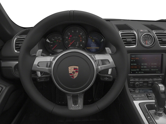 2015 Porsche Boxster Prices and Values Roadster 2D H6 driver's dashboard
