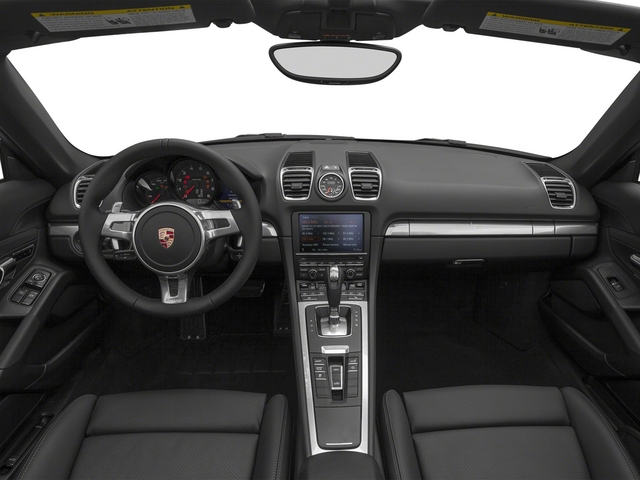 2015 Porsche Boxster Prices and Values Roadster 2D H6 full dashboard