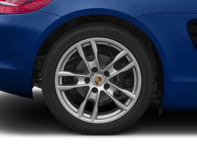2015 Porsche Boxster Prices and Values Roadster 2D H6 wheel