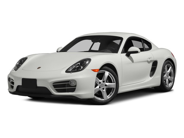 2015 Porsche Cayman Prices and Values Coupe 2D H6 side front view