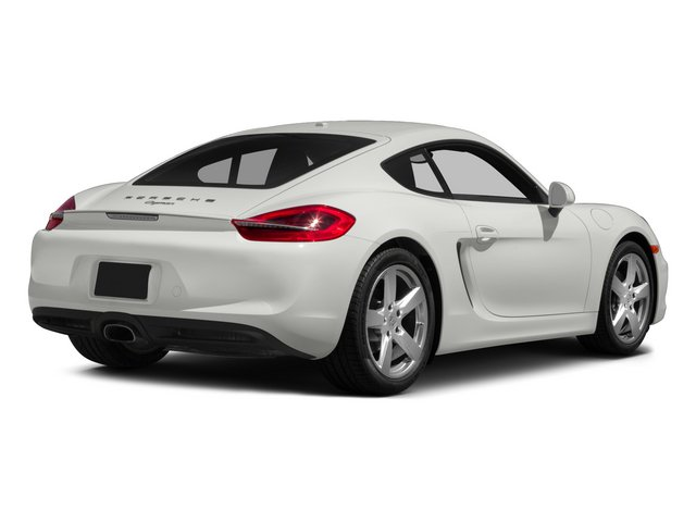 2015 Porsche Cayman Prices and Values Coupe 2D H6 side rear view