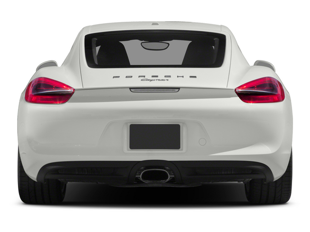 2015 Porsche Cayman Prices and Values Coupe 2D H6 rear view