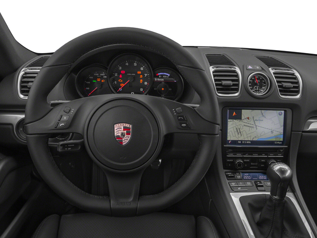 2015 Porsche Cayman Prices and Values Coupe 2D H6 driver's dashboard