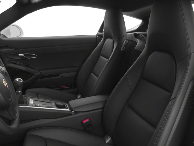 2015 Porsche Cayman Prices and Values Coupe 2D H6 front seat interior