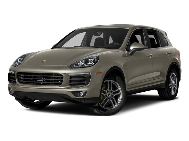 2015 Porsche Cayenne Prices and Values Utility 4D S V6 e-Hybrid AWD side front view