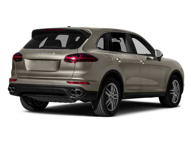 2015 Porsche Cayenne Prices and Values Utility 4D S V6 e-Hybrid AWD side rear view
