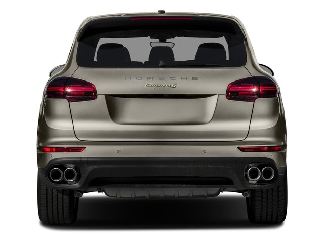2015 Porsche Cayenne Prices and Values Utility 4D S V6 e-Hybrid AWD rear view