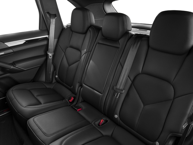 2015 Porsche Cayenne Prices and Values Utility 4D S V6 e-Hybrid AWD backseat interior
