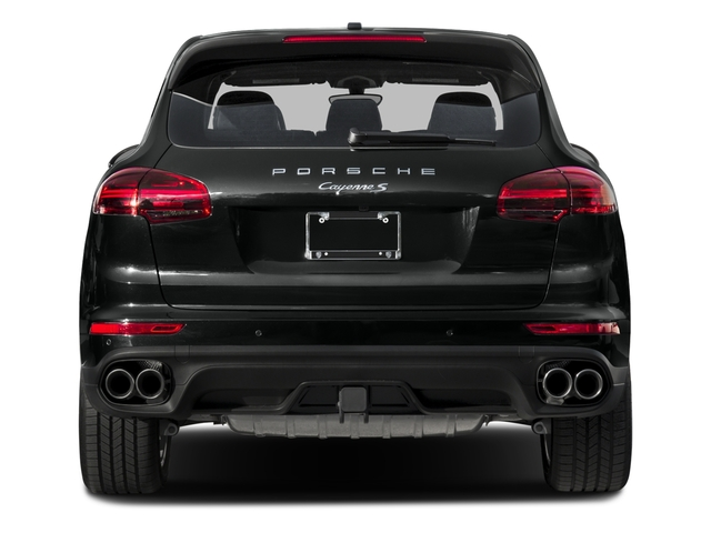 2015 Porsche Cayenne Prices and Values Utility 4D S AWD V6 Turbo rear view