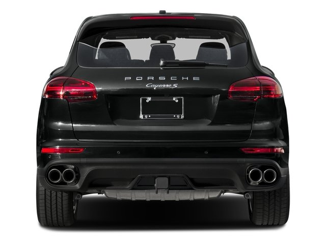 2015 Porsche Cayenne Prices and Values Utility 4D AWD V8 Turbo rear view