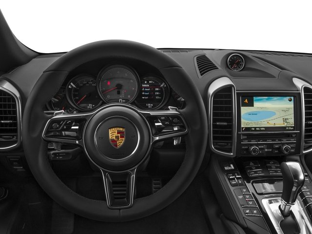 2015 Porsche Cayenne Prices and Values Utility 4D AWD V8 Turbo driver's dashboard