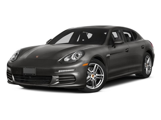 2015 Porsche Panamera Pictures Panamera Hatchback 4D 4 AWD H6 photos side front view