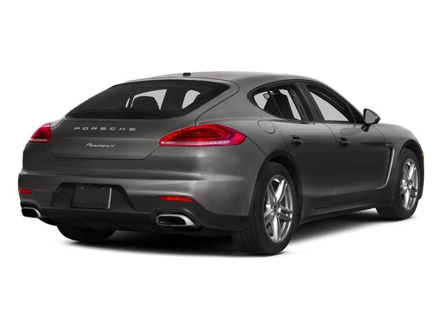 2015 Porsche Panamera Pictures Panamera Hatchback 4D S Exec AWD V8 Turbo photos side rear view