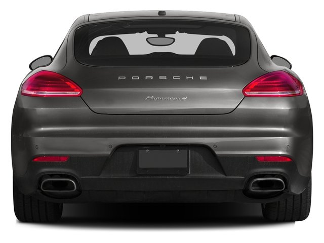2015 Porsche Panamera Prices and Values Hatchback 4D AWD V8 Turbo rear view