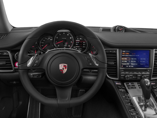 2015 Porsche Panamera Prices and Values Hatchback 4D S Exec AWD V8 Turbo driver's dashboard