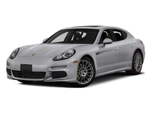 2015 Porsche Panamera Prices and Values Hatchback 4D S e-Hybrid V6 side front view