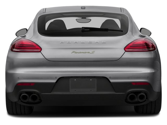 2015 Porsche Panamera Prices and Values Hatchback 4D S e-Hybrid V6 rear view