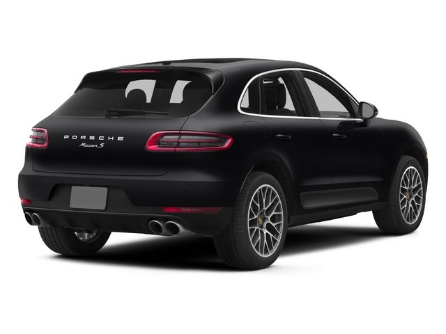 2015 Porsche Macan Pictures Macan Utility 4D AWD V6 Turbo photos side rear view