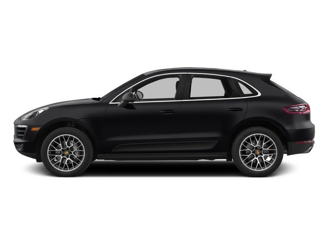 2015 Porsche Macan Pictures Macan Utility 4D AWD V6 Turbo photos side view