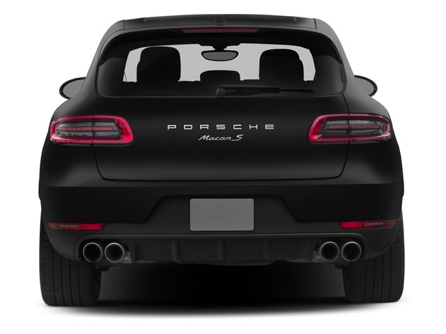2015 Porsche Macan Prices and Values Utility 4D AWD V6 Turbo rear view