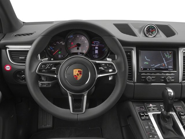 2015 Porsche Macan Prices and Values Utility 4D AWD V6 Turbo driver's dashboard