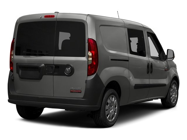 2015 Ram Truck ProMaster City Wagon Prices and Values Passenger Van SLT side rear view
